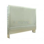 Шкаф коллекторный встраиваемый, нержавеющая сталь, 6-9 контуров, 77351033