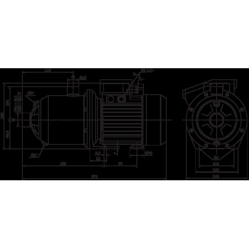 Насосная станция с многоступенчатым насосом Wilo MP 603-DM