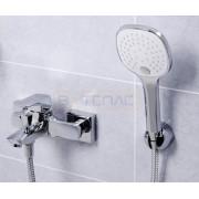 Смеситель WasserKRAFT Salm 2701 для ванны с коротким изливом, хром, 2701