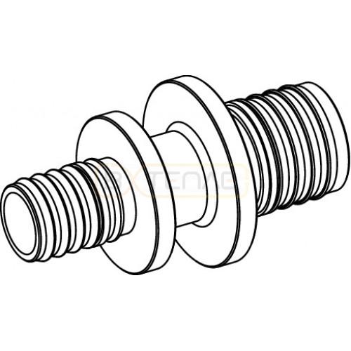 Соединение TECEflex труба-труба редукционное, 32 x 20, латунь 766506