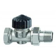 Термостатический клапан IMI Heimeier Calypso, без преднастройки, DN15, проходной, латунь, 3442-02.000