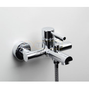 Смеситель WasserKRAFT Main 4101 для ванны с коротким изливом, хром, 4101