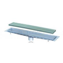 Дренажный лоток с односторонним примыканием к стене/цоколю BASIKA KRS
