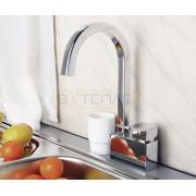 Смеситель WasserKRAFT Aller 1067 для кухни, хром, 1067