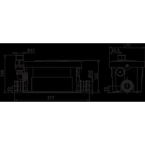 Напорная установка Wilo HiDrainlift 3-24