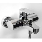 Смеситель WasserKRAFT Donau 5301 для ванны с коротким изливом, хром, 5301
