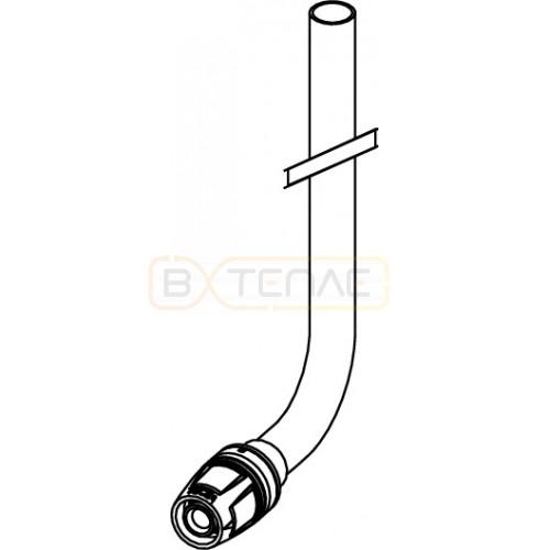 Монтажная трубка TECElogo Push-fit для радиатора конечная 16 x 330
