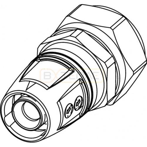 Адаптер TECElogo Push-fit с зажимом на медную трубу 20 x 18