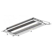 Всасывающая решетка для встраиваемого внутреннего блока канального типа производительностью 7К -  15К
