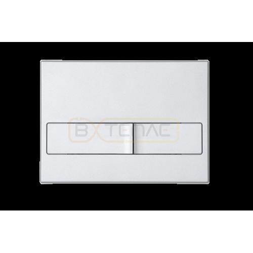 Инталяция для скрытого монтажа BERGES NOVUM L2 с кнопкой матовый хром