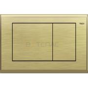 Кнопка смыва TECE Planus состаренная латунь