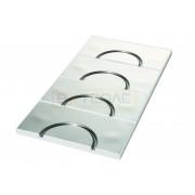 Головной элемент TECEfloor UP 250 c алюминиевым слоем, 77520013