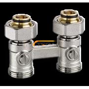"""Клапан для нижнего подключения IMI Heimeier VEKOTRIM, для двухтрубной системы, G 3/4"""" x G 3/4"""", проходной, латунь, 0566-50.000"""