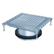 Надставной элемент для трапа BASIKA со свободолежащей рамкой 300х300