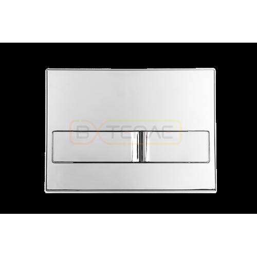 Инталяция для скрытого монтажа BERGES NOVUM L3 с кнопкой хром глянец