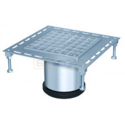 Надставной элемент для трапа BASIKA со свободолежащей рамкой 200х200