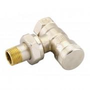 Клапан RLV, c возможностью опорожнения, для бокового присоединения к радиатору Danfoss. 15мм, 003L0143