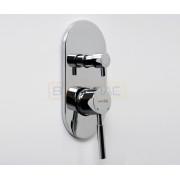 Смеситель WasserKRAFT Main 4141 для ванны и душа со встраиваемой системой монтажа, хром, 4141