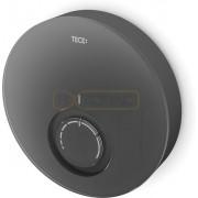 Дизайнерская панель комнатного термостата TECEfloor DT, стекло черное, корпус черный, 77400015