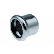Заглушка KAN-Therm Steel, оцинкованная сталь 22 мм
