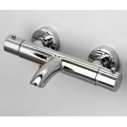 Термостатический смеситель WasserKRAFT Berkel 4811 Thermo для ванны с коротким изливом, хром