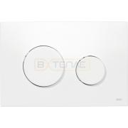 Кнопка смыва TECE Loop белая антибактериальная, 9240640