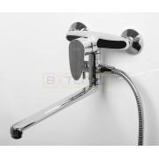 Смеситель WasserKRAFT Leine 3502L для ванны с длинным поворотным изливом 350 мм, хром, 3502L