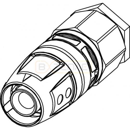 Заглушка TECElogo Push-fit с воздухоотводчиком 16, латунь