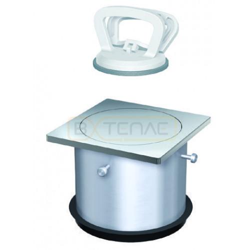 Надставной элемент для трапа BASIKA с рамкой 200х200