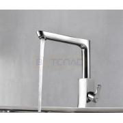 Смеситель WasserKRAFT Berkel 4807 для кухни с поворотным изливом, картридж 25 мм, хром, 4807