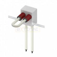 Монтажный узел TECElogo для подключения радиатора