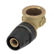 Уголок соединительный 90° с муфтой 20 мм x Rp 3/4