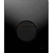 Кнопка смыва TECE Loop Urinal черное стекло, кнопка черная, 9242657