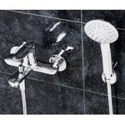 Смеситель WasserKRAFT Vils 5601 для ванны с коротким изливом, хром, 5601