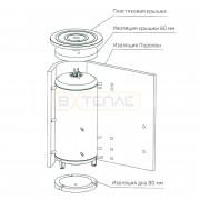 Изоляция дна Buderus 80 мм (500 л)