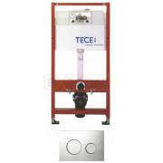 Инсталляция для подвесного унитаза TECEbase 4 в 1 с кнопкой смыва TECEloop, K400626