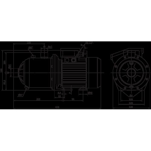 Насосная станция с многоступенчатым насосом Wilo MC 304-DM