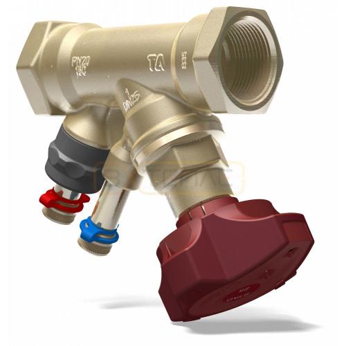 Балансировочный клапан IMI TA STAD B, без дренажа, DN32, вн резьба, PN20, AMETAL
