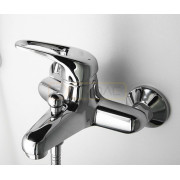 Смеситель WasserKRAFT Oder 6301 для ванны с коротким изливом, хром, 6301