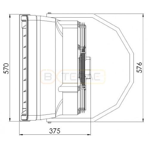 Тепловентилятор SONNIGER HEATER R1 10-30 кВт WA0007