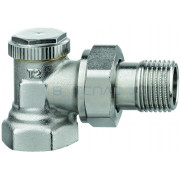 """Радиаторный запорно-регулирующий клапан IMI Heimeier REGUTEC F, DN15(1/2""""), угловой, латунь, 0331-02.000"""