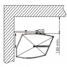 Комплект кронштейнов SONNIGER GUARD CGA0051