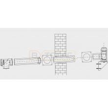 Базовая комплектация Buderus GAF-K DN 110/160