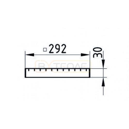 Колосниковая решётка 292х292 BASIKA