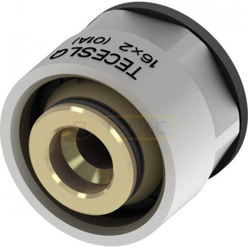 Концовка разборная SLQ TECEfloor для труб поверхностного отопления PE-RT 17