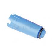 """Заглушка для опрессовки TECE пластиковая 1/2"""" AG, синяя"""