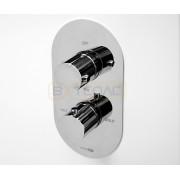 Термостатический смеситель WasserKRAFT Berkel 4844 Thermo для ванны и душа со встраиваемой системой монтажа