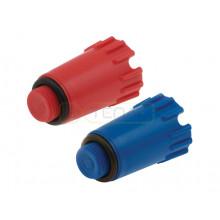 "Заглушка KAN-therm для проверки герметичности, синяя 1/2"""