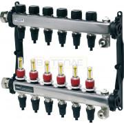 "Коллектор TECEfloor для теплого пола 1"" x 16 Push-fit, 2 контура, 77311102"
