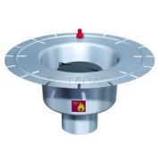 Дренажный трап с вертикальным штуцером BASIKA л/c 2,0 DN 100, 303 20 16